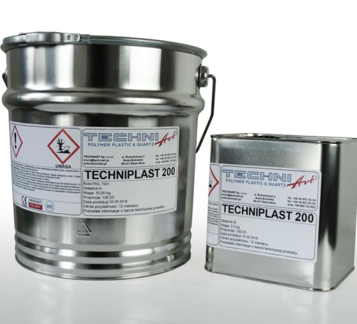 Techniplast 200 — эпоксидная пигментированная смола