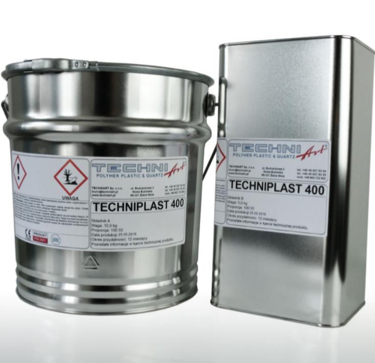Techniplast 400 — финишная прозрачная смола
